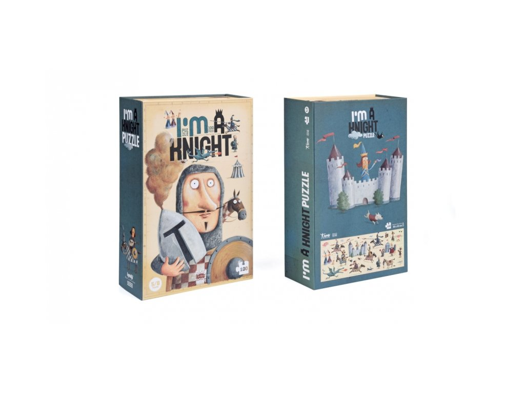 i m a knight puzzle 1