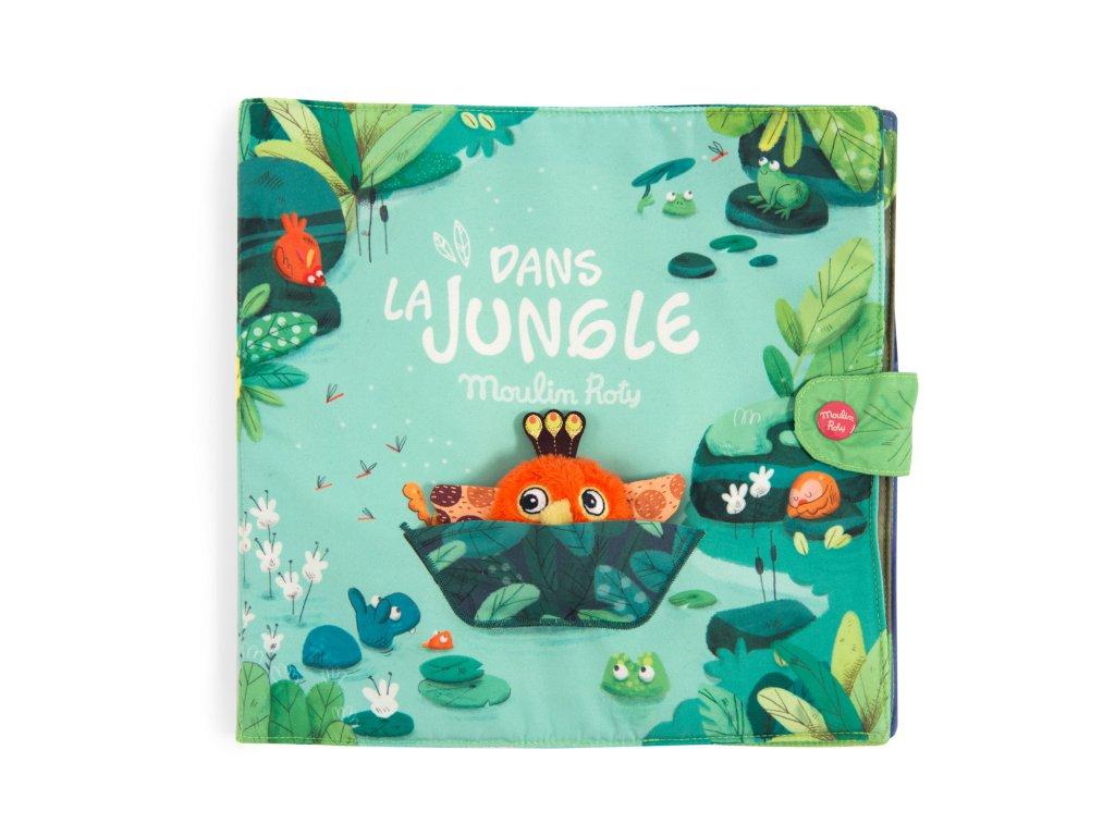 Velká látková knížka V džungli