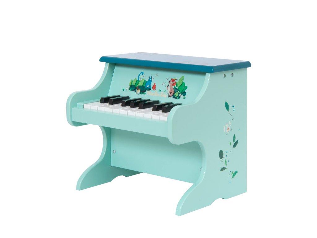 Malované piano z kolekce Jungle od Moulin Roty