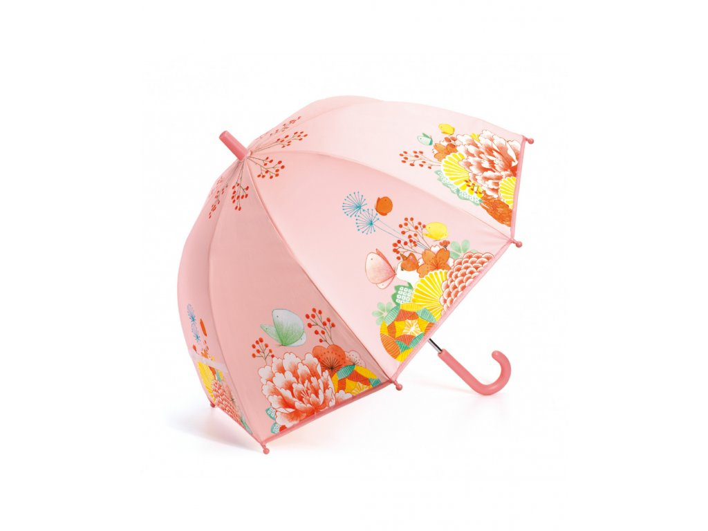 DJECO Krásný designový deštník - Květinová zahrada