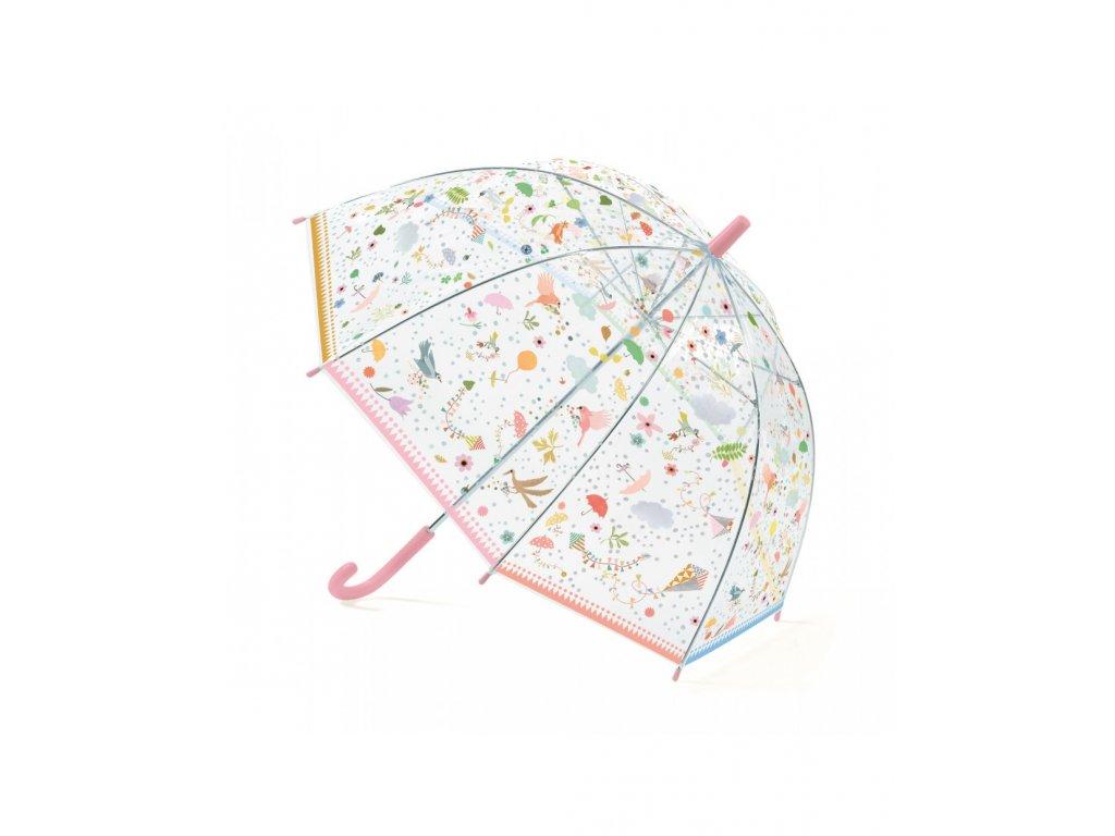 Krásný designový deštník V letu