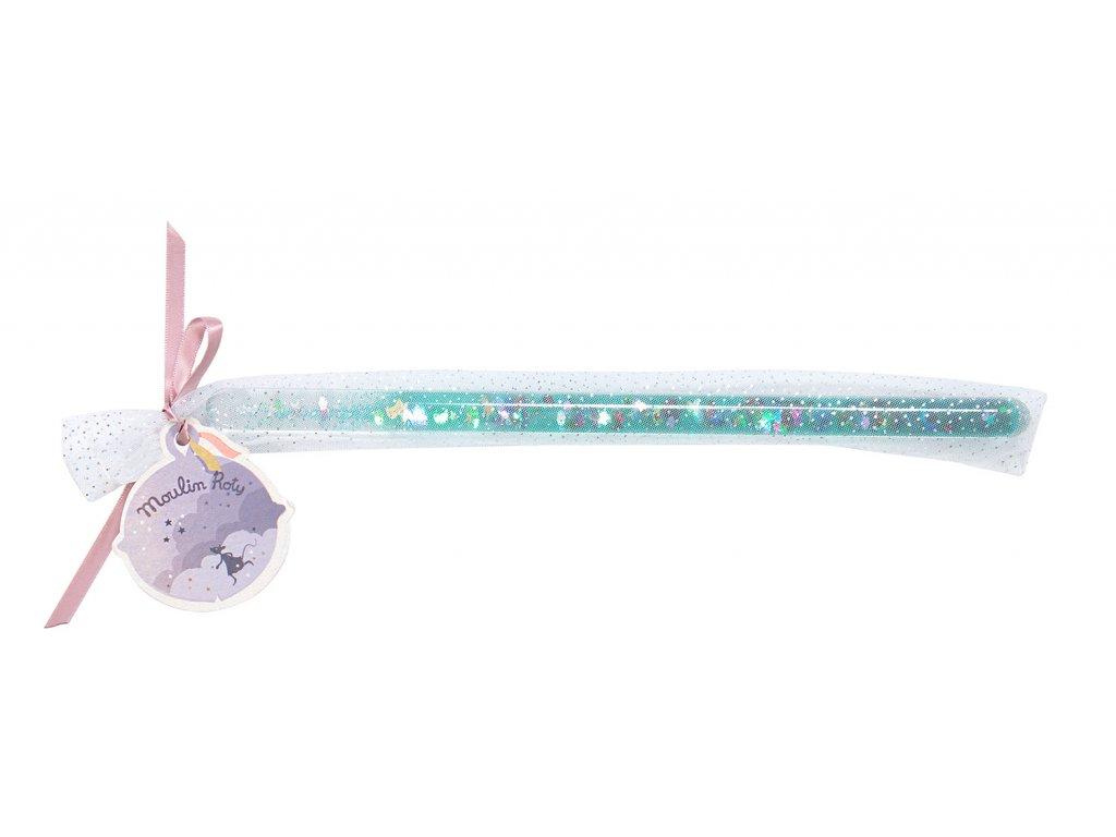 Kouzelnická hůlka tyrkysová