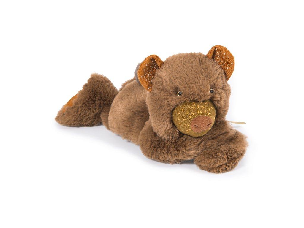 Heboučký hnědý medvídek