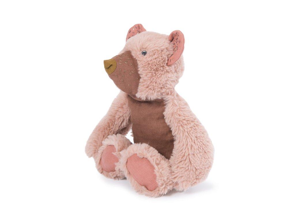 Heboučký růžový medvídek