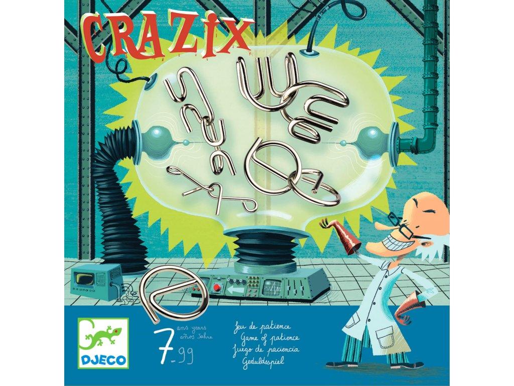 DJECO Crazix - sada 5 hlavolamů