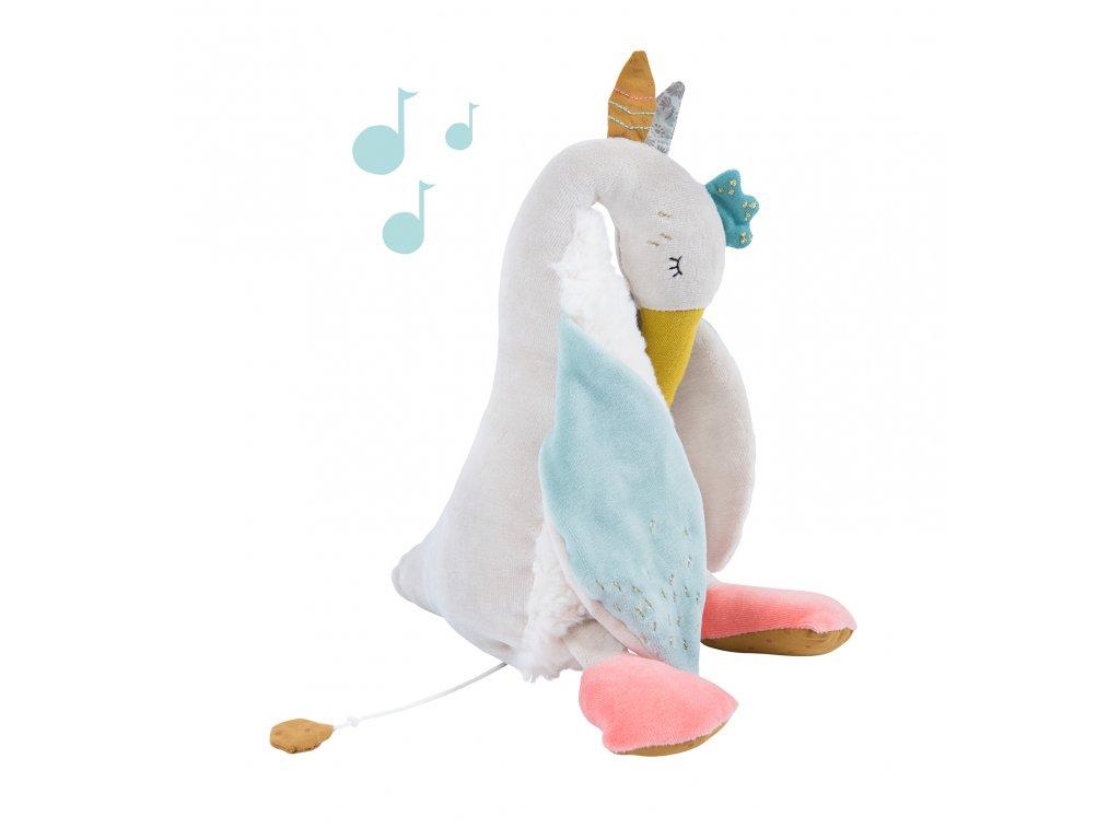 Hrací plyšová husa Olga