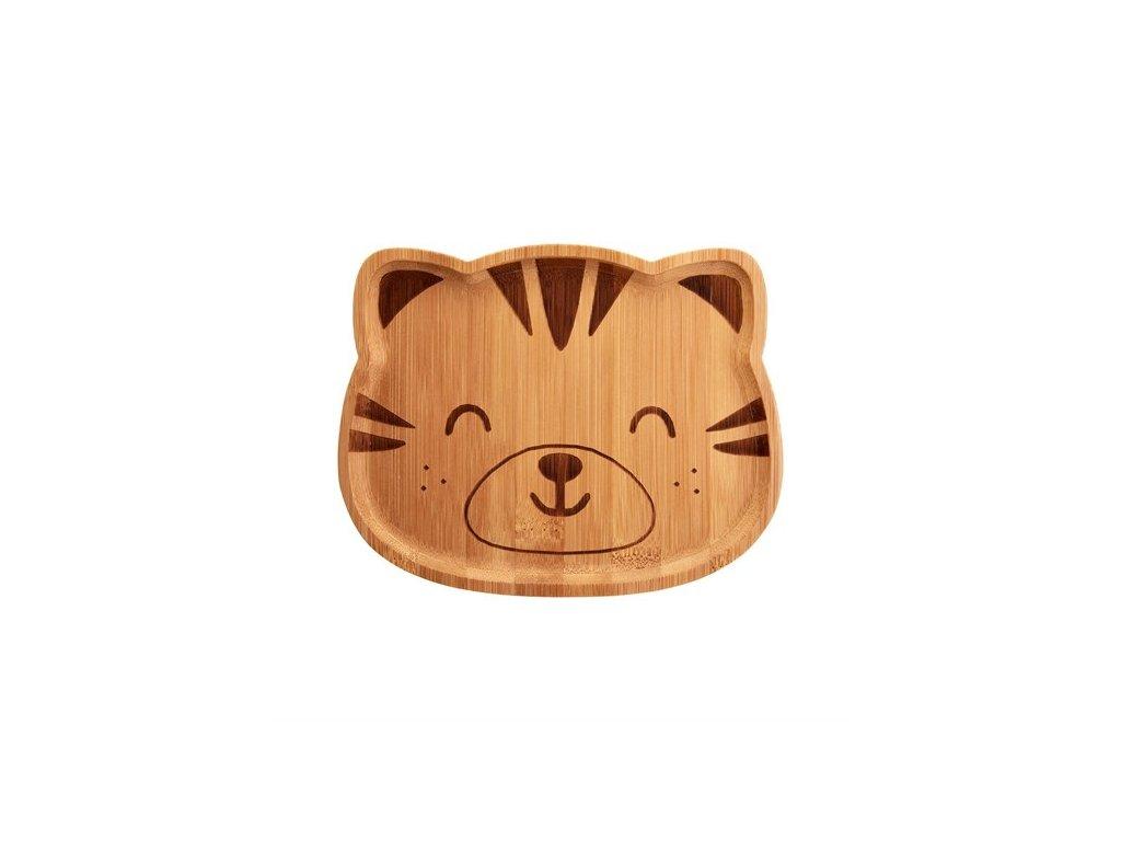 0050129 bambusovy talirek woodland tiger 1 550