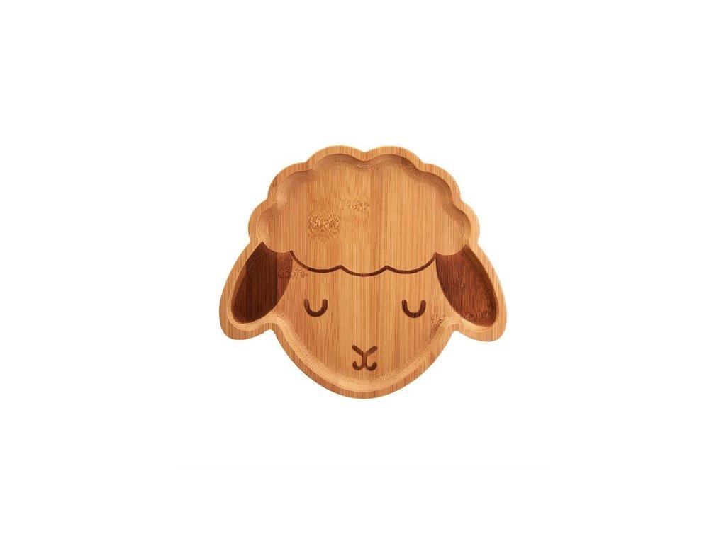 0054523 bambusovy talirek bee bee lamb 1 550