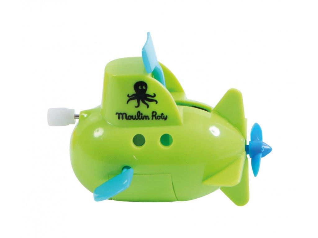 Ponorka do vany zelená