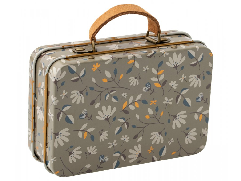 Maileg kovový kufřík - Kytičky