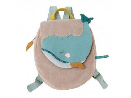 Plyšový batoh Velryba