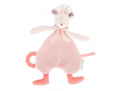 MOULIN ROTY Muchláček a kousátko Růžová myška