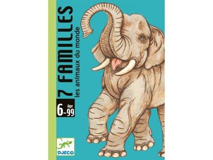 DJECO Karty zvířecí rodinky