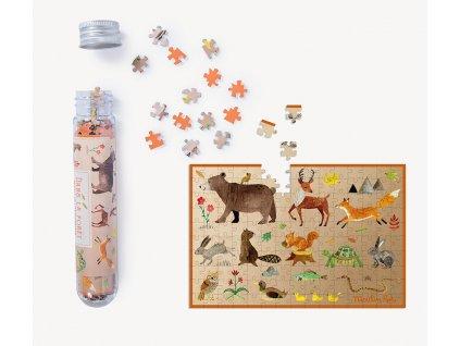 Mini puzzle Lesní zvířata