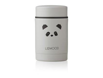 LW12862 Nadja food jar 0011 Panda light grey Extra 1