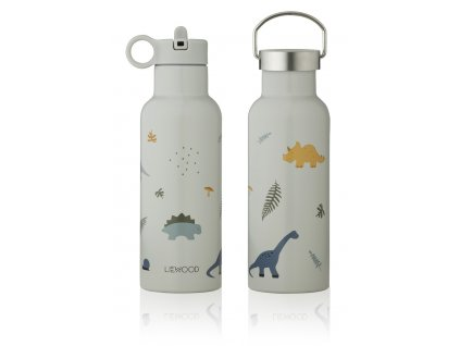 LW13047 Neo water bottle 6917 Dino dove blue mix Extra 0