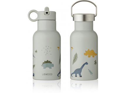 LW13072 Anker water bottle 6917 Dino dove blue mix Extra 0