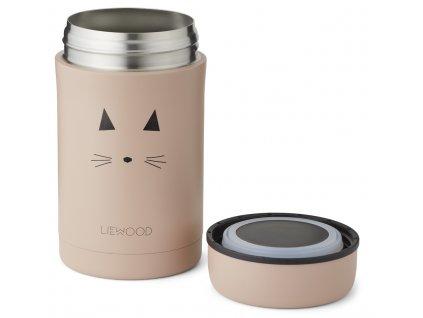 LW14112 Bernard food jar 0022 Cat rose Extra 0