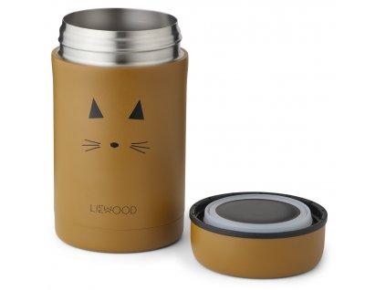 LW14112 Bernard food jar 0024 Cat mustard Extra 0