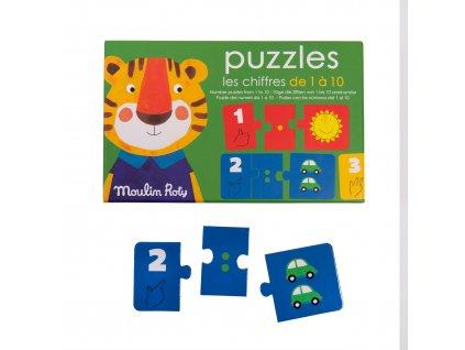 MOULIN ROTY Trio puzzle počítání