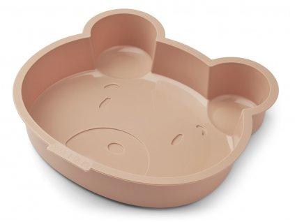 LW14243 Amory cake pan 2088 Mr bear tuscany rose Extra 0