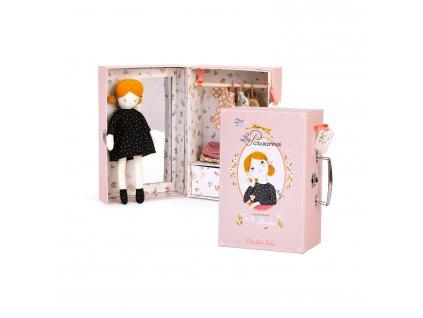 MOULIN ROTY Panenka Blanche v kufříku s oblečením