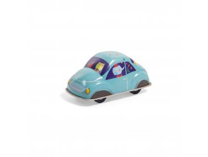 MOULIN ROTY Plechové autíčko modré