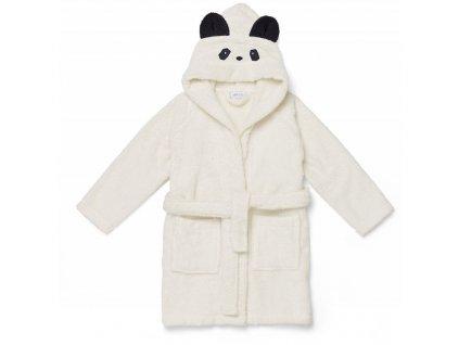 LW12387 Lily bathrobe 0010 Panda creme de la creme Extra 0