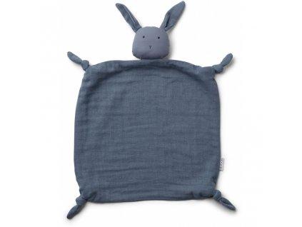 LW12379 Agnete cuddle cloth 0138 Rabbit blue wave Extra 0