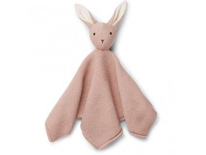 LW12553 Milo knit cuddle cloth 0037 Rabbit rose Extra 0