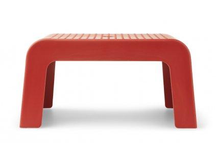 LW12861 Ulla step stool 2400 Apple red Extra 1