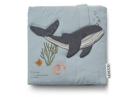 LW13089 Sammy fabric book 6910 Sea creature mix Extra 0