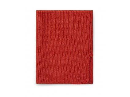 LW13039 Mathias neck warmer 2400 Apple red Extra 0