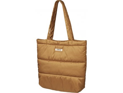 LW14338 Constance quilted tote bag 3050 Golden caramel Extra 0