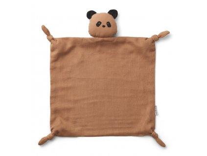 LW12901 Agnete cuddle cloth 2077 Panda tuscany rose Main