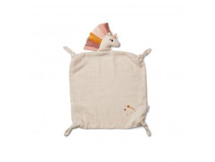 Agnete Cuddle Cloth Doll Teddy LW12901 5062 Unicorn sandy 1200x
