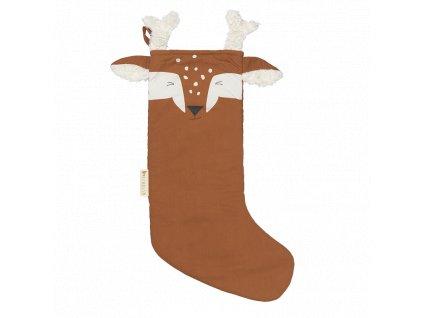 Christmas Stocking Deer Cinnamon (primary)