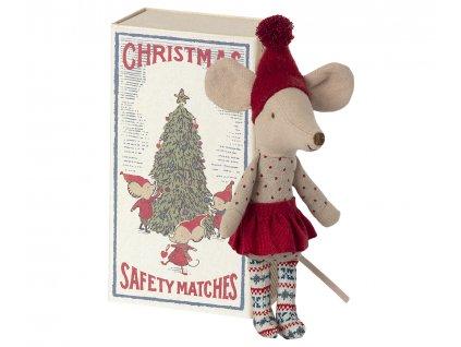 MAILEG Vánoční myška - velká sestra