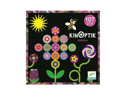 DJECO KINOPTIK: Magnetická skládačka Zahrada