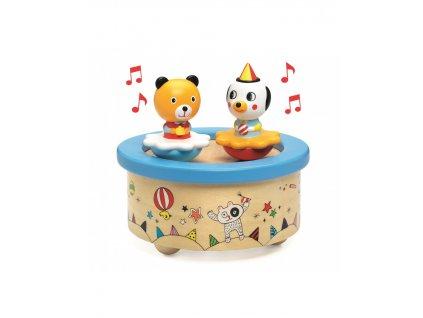 Hudební hračka Zvířecí oslava