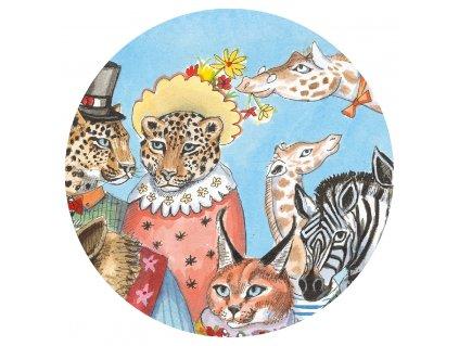 DJECO Puzzlový obraz  Král zvířát
