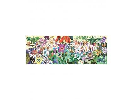 Puzzlový obraz  Duhoví tygři-1000 dílků