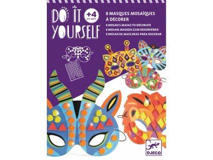 DIY Masky zvířata z džungle