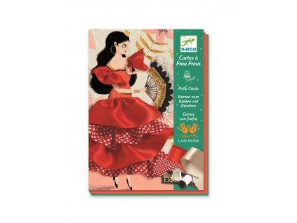 DJECO Luxusní výtvarná sada Flamenco