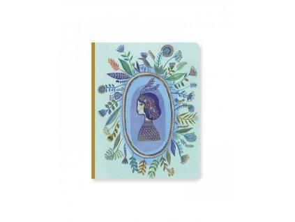 Krásný designový zápisník Aurélia