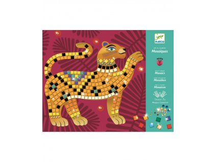DJECO Třpytivá mozaika Jungle