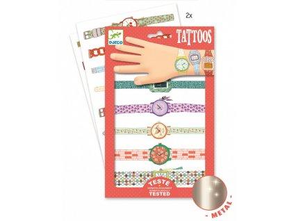 Tetování hodinky