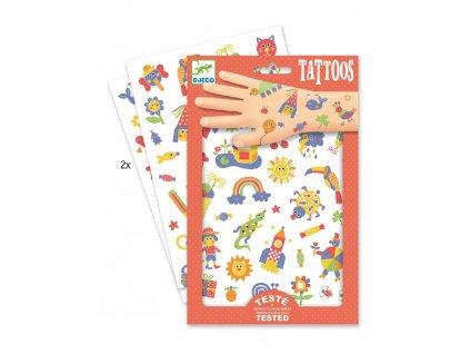 Tetování duhový svět