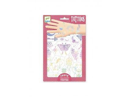 Tetování Duhový šťastný svět