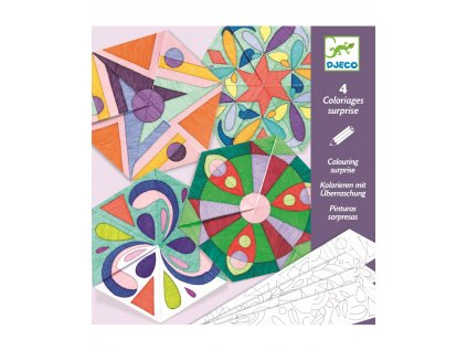 Origamy Růžicové mandaly